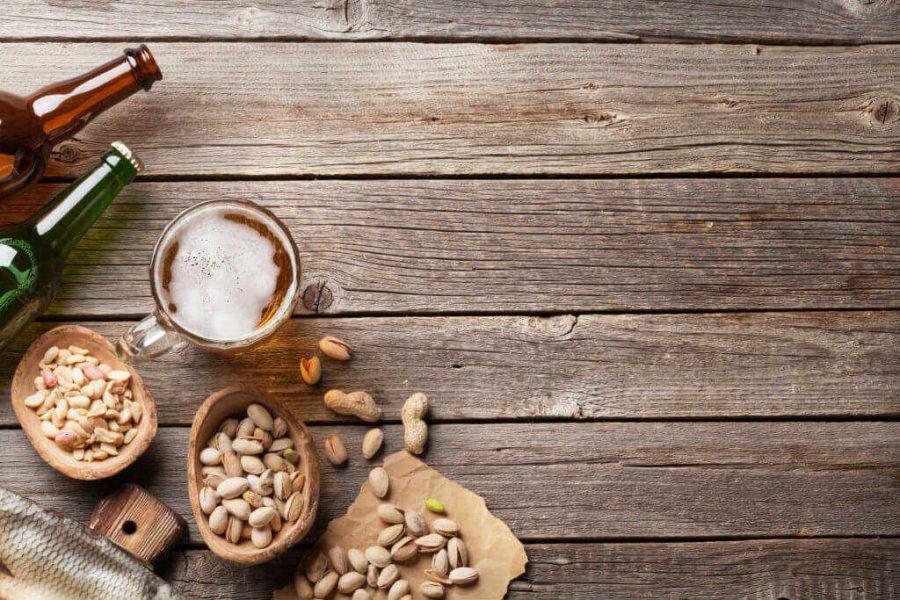 pub-snacks-on-bar